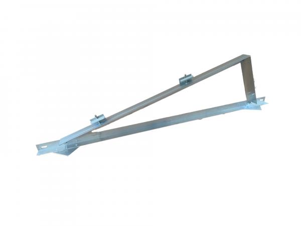 Flachdach-Montagesystem für 1 Modul